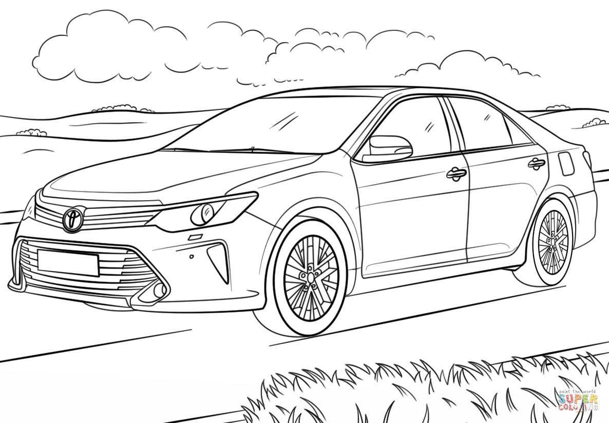 toyota car coloring pages toyota coloring pages coloring pages to download and print coloring car pages toyota