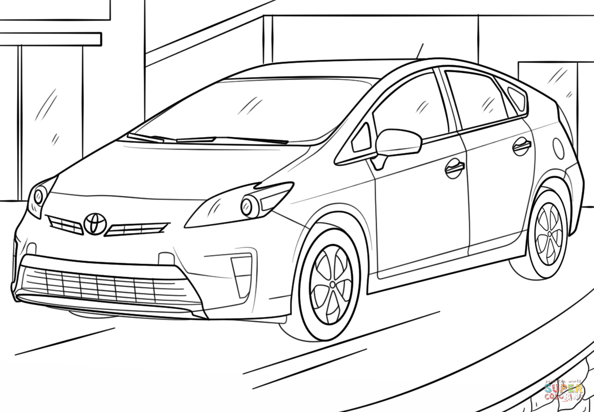 toyota car coloring pages toyota coloring pages coloring pages to download and print toyota pages car coloring