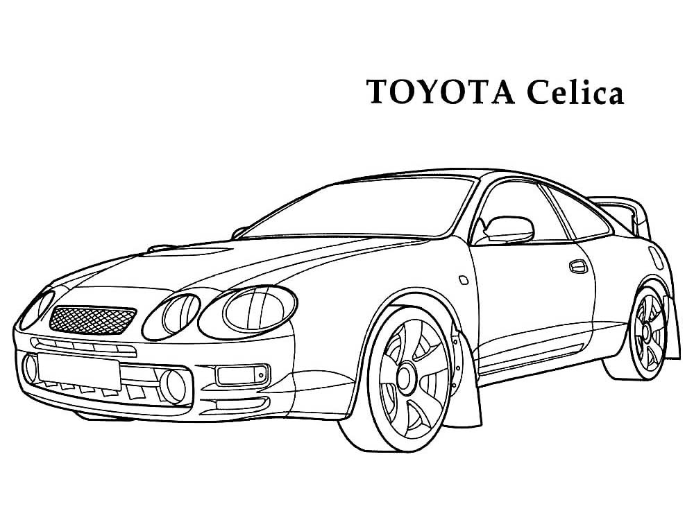 toyota car coloring pages toyota land cruiser coloring pages gadisyuccavalley pages toyota coloring car