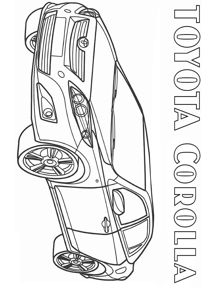 toyota car coloring pages toyota land cruiser coloring pages gadisyuccavalley toyota coloring car pages
