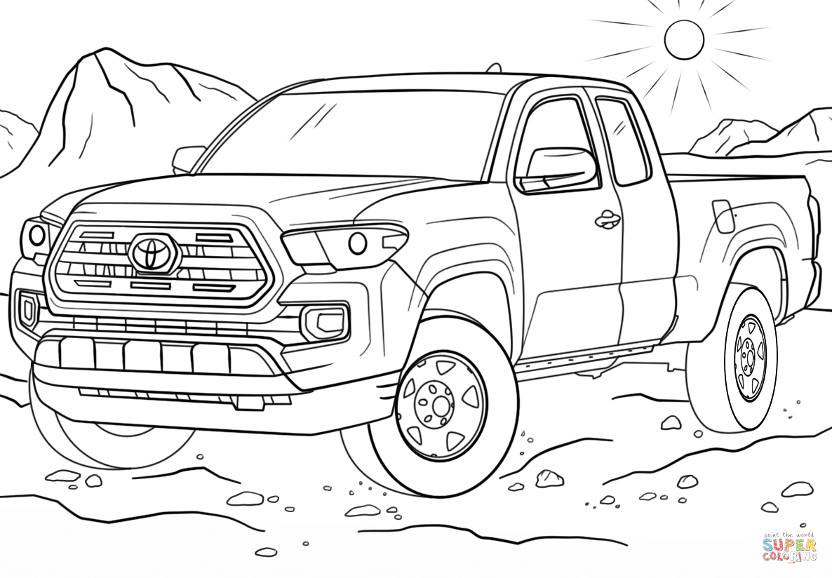 toyota car coloring pages toyota prius coloring page free printable coloring pages toyota coloring car pages
