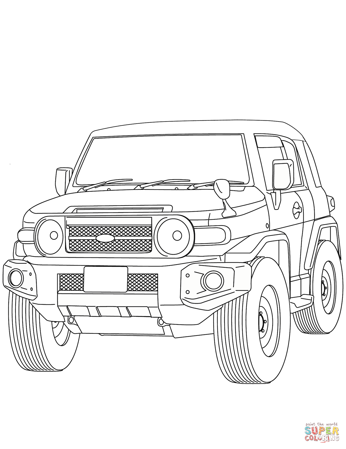 toyota car coloring pages toyota tundra coloring pages at getcoloringscom free toyota car pages coloring