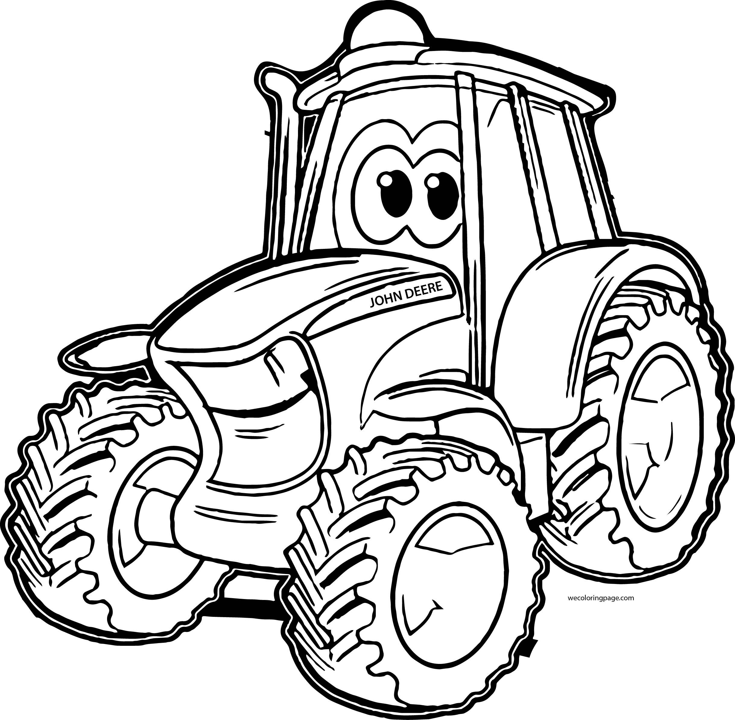tractor coloring page rugged tractor coloring pages yescoloring free page tractor coloring