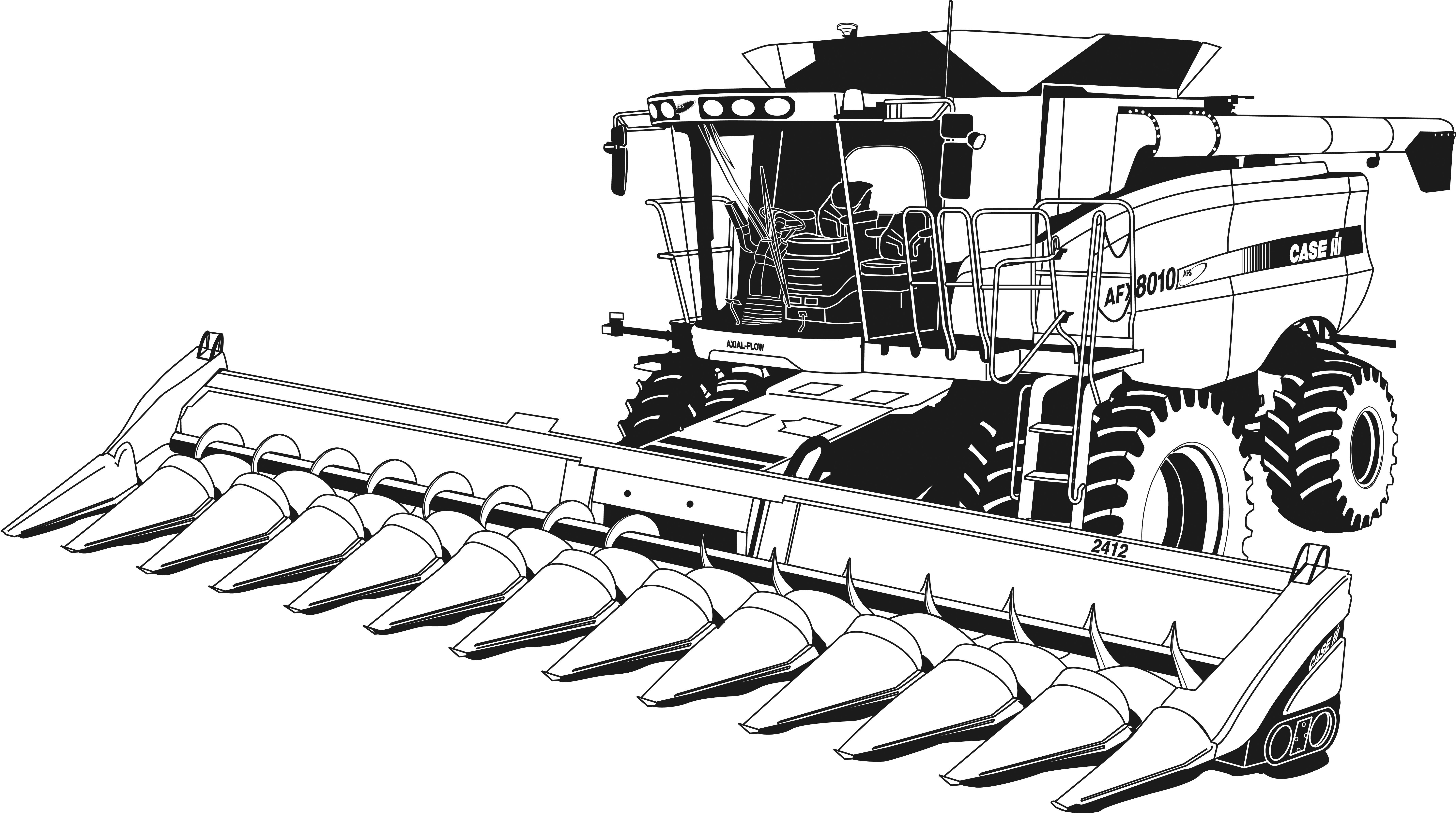 tractor coloring page tractor coloring pages at getdrawings free download tractor coloring page