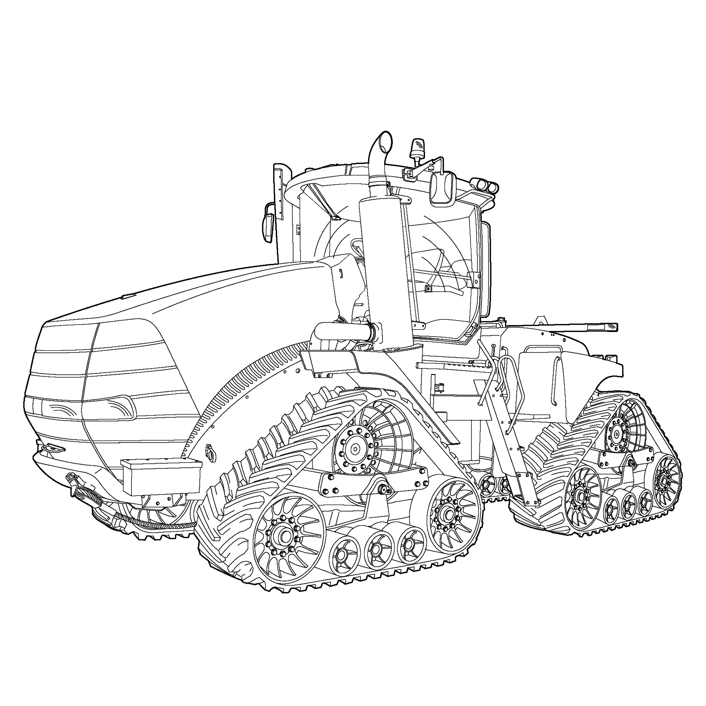 tractor coloring page tractor coloring pages to download and print for free page coloring tractor