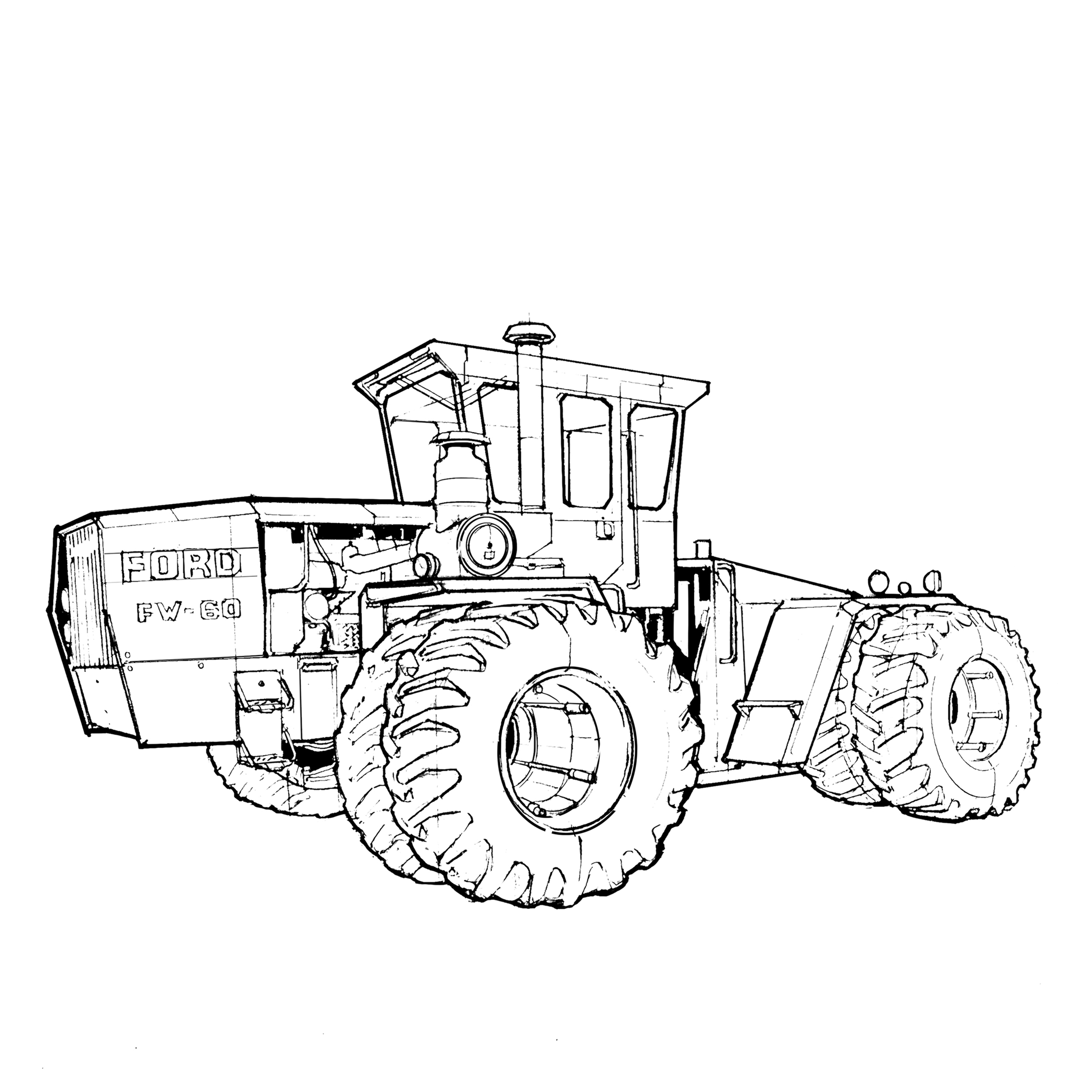 tractor coloring page tractor coloring pages to download and print for free tractor coloring page