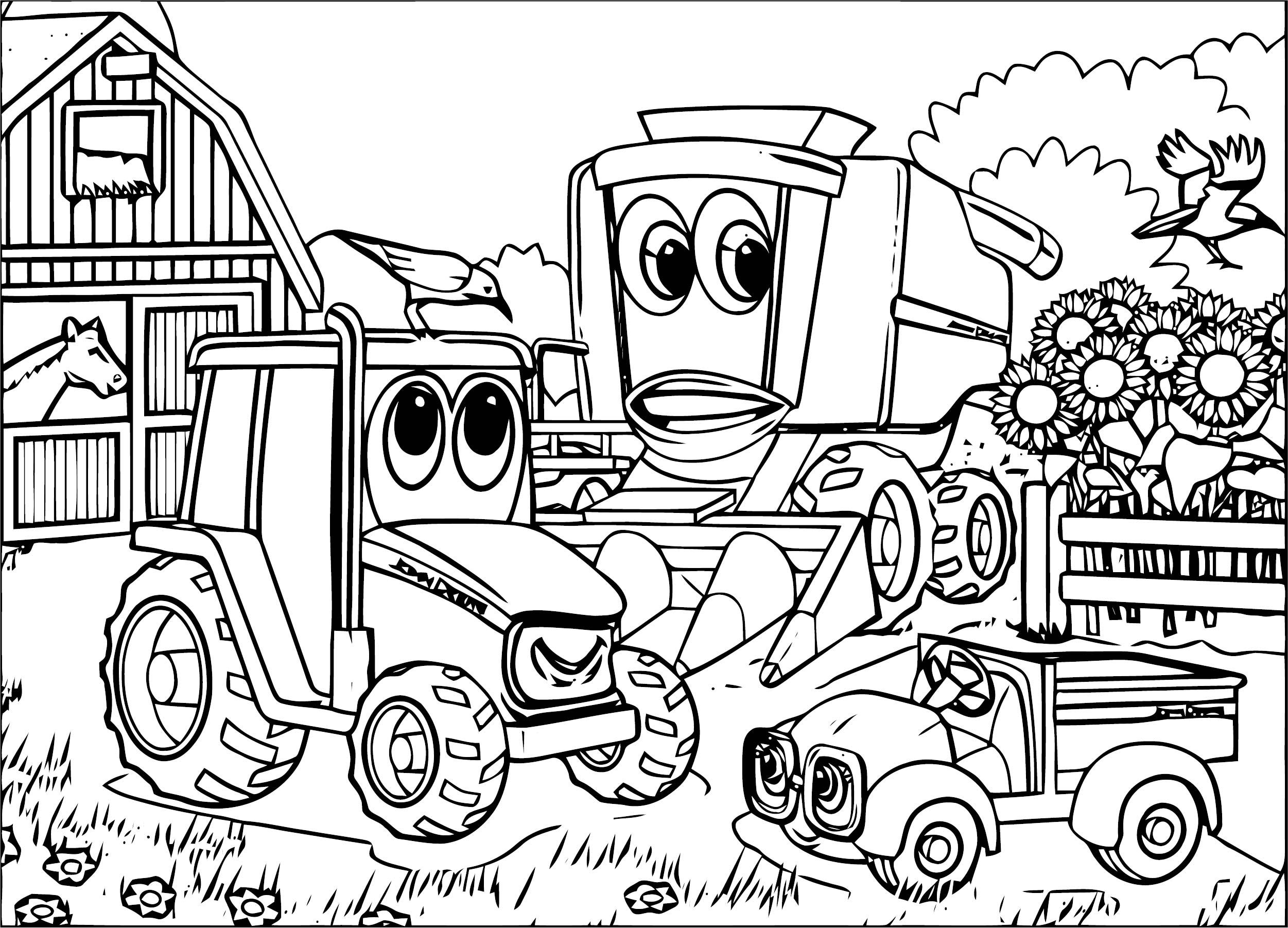 tractor colouring pictures tractor coloring pages to download and print for free tractor colouring pictures
