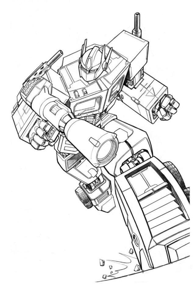 transformers barricade coloring pages dibujo colorear transformers pages transformers barricade coloring