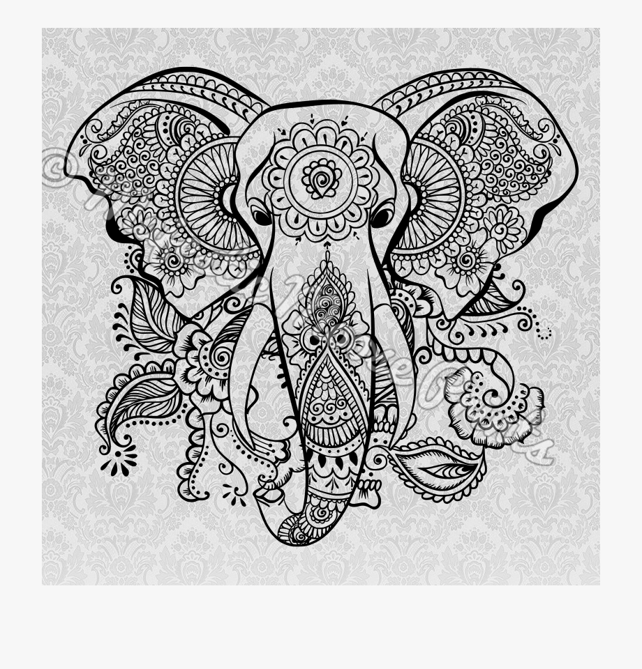 tribal animal coloring pages elephant coloring pages for adults best coloring pages pages tribal coloring animal