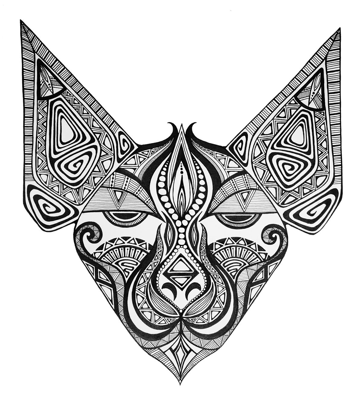 tribal animal coloring pages owl tribal coloring page kidspressmagazinecom animal tribal coloring pages