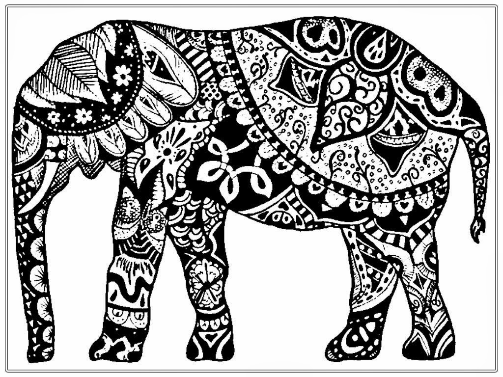 tribal animal coloring pages tribal cat adult coloring page free printable pages coloring animal tribal