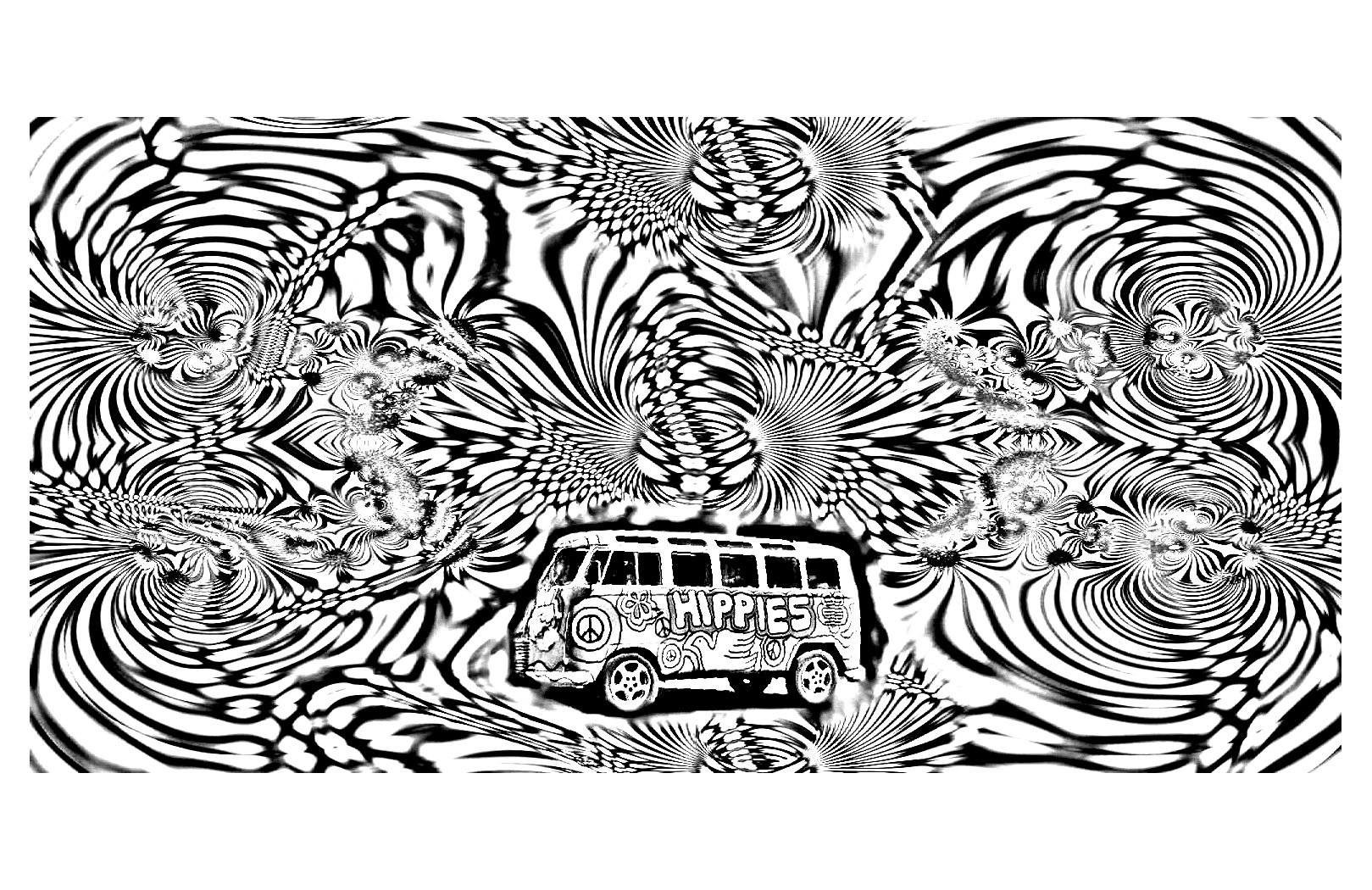 trippy coloring books psychedelic pattern coloring page free printable coloring books trippy