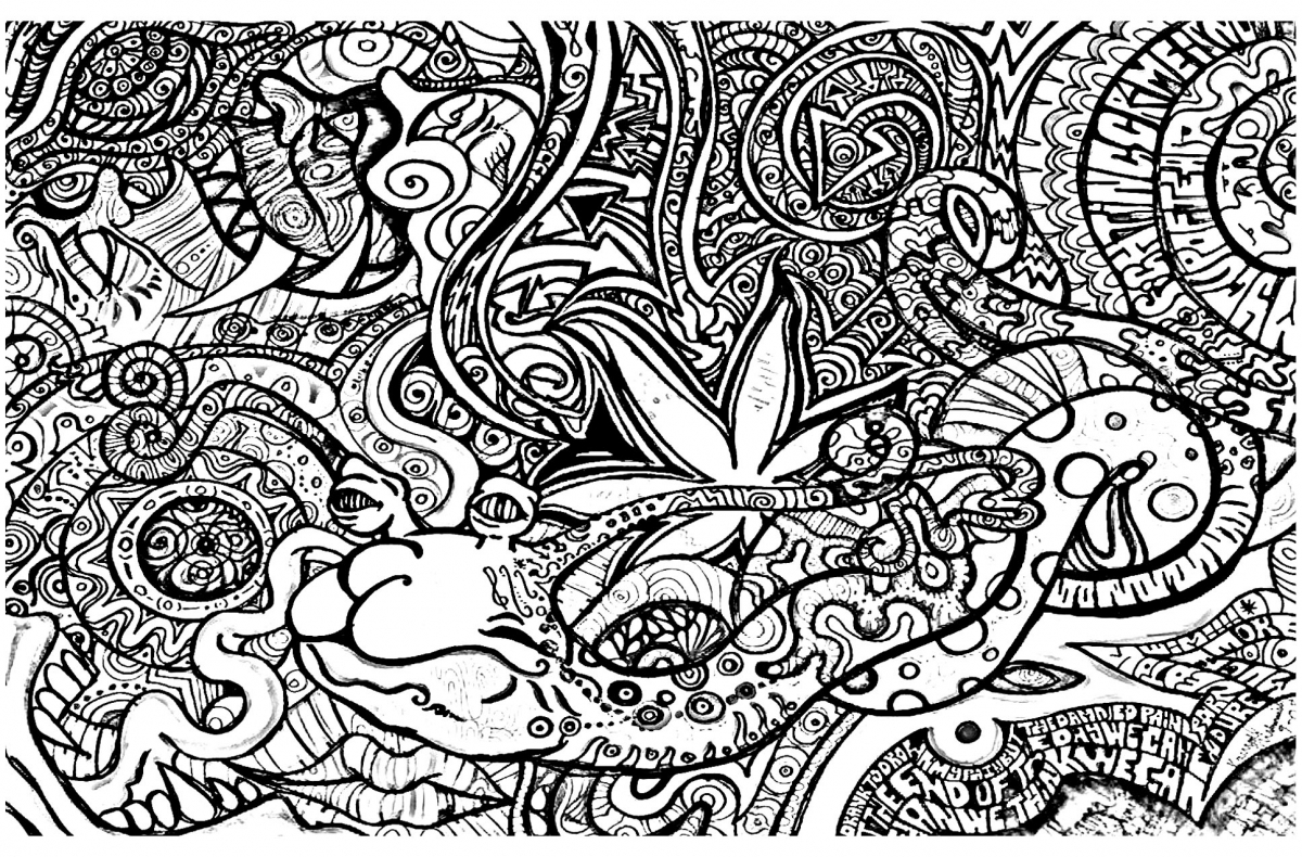 trippy coloring pages printable best 15 psychedelic coloring pages library coloring trippy coloring printable pages