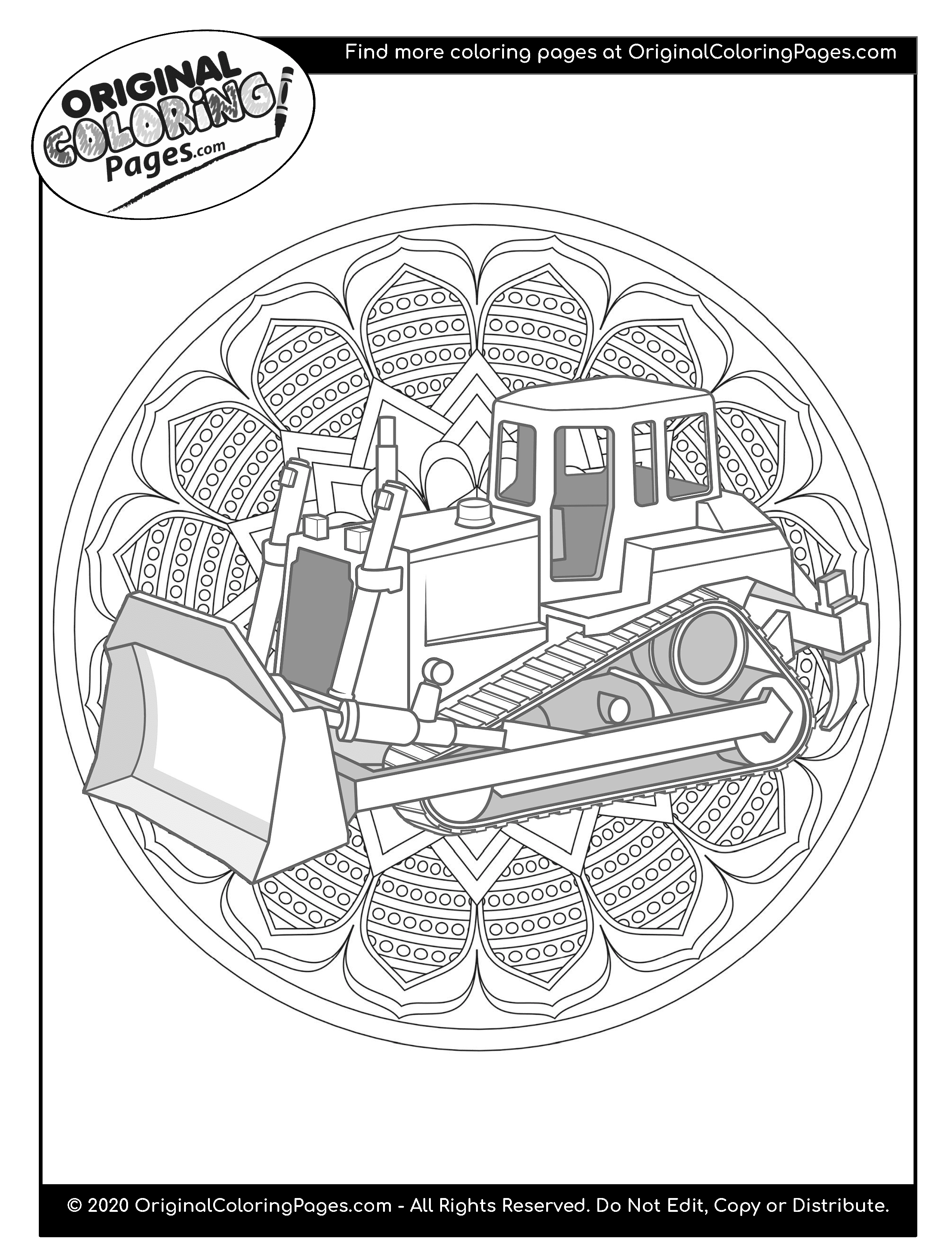 truck and tractor coloring pages excavator coloring pages coloring home and truck pages tractor coloring