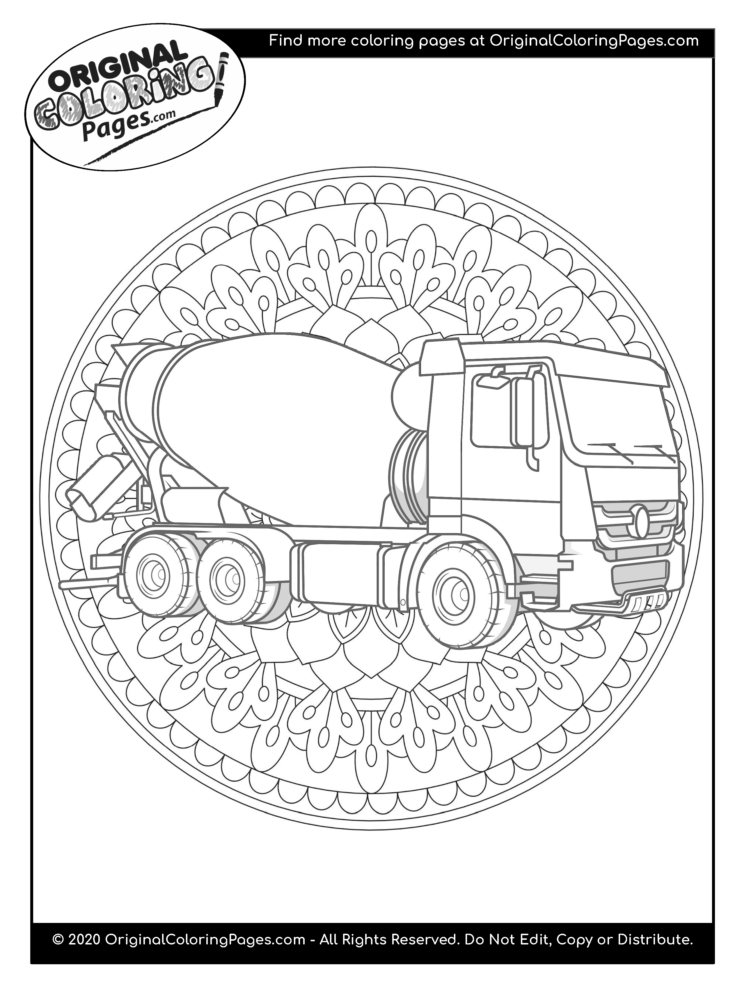 truck and tractor coloring pages memoirs of a trucker pages coloring and tractor truck