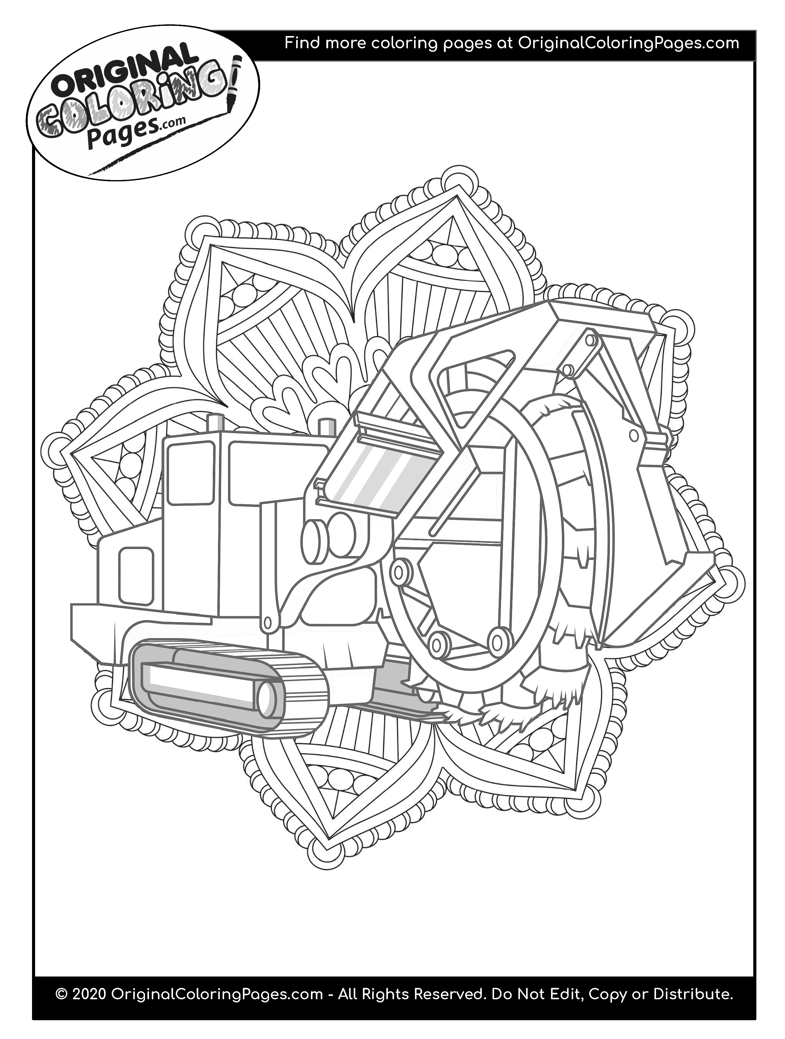 truck and tractor coloring pages semi truck netart pages truck tractor coloring and