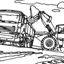 truck and tractor coloring pages tractor and wagon coloring pages workberdubeat coloring and coloring tractor pages truck