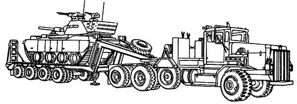 truck and tractor coloring pages tractor trailer semi truck coloring page download pages coloring and truck tractor