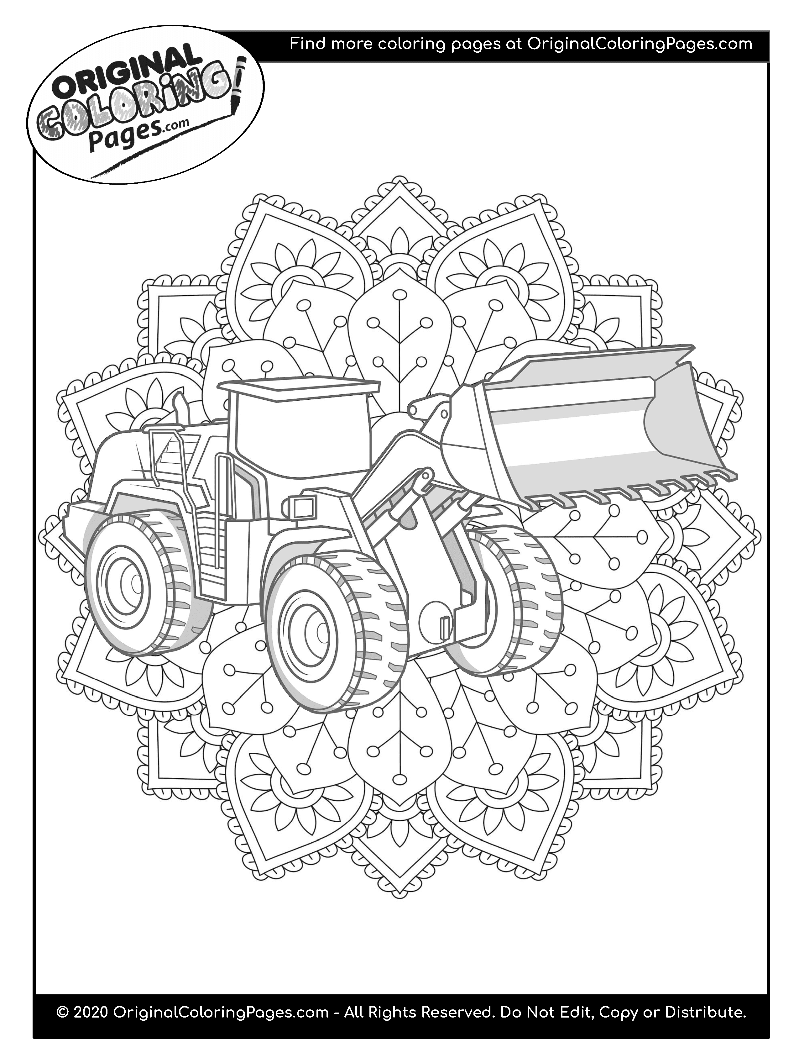 truck and tractor coloring pages truck and trailer coloring pages at getcoloringscom pages coloring and truck tractor