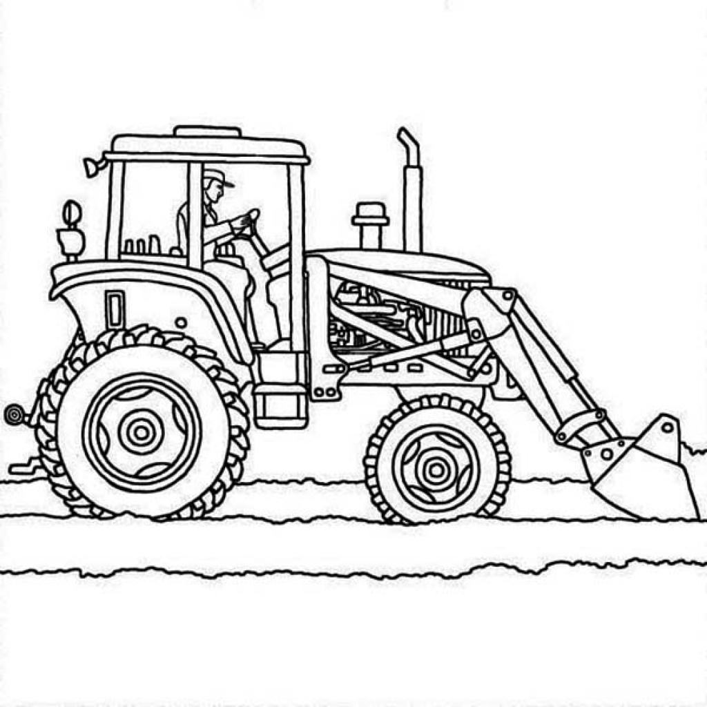 truck and tractor coloring pages trucks and tractors coloring pages coloring pages pages and coloring truck tractor