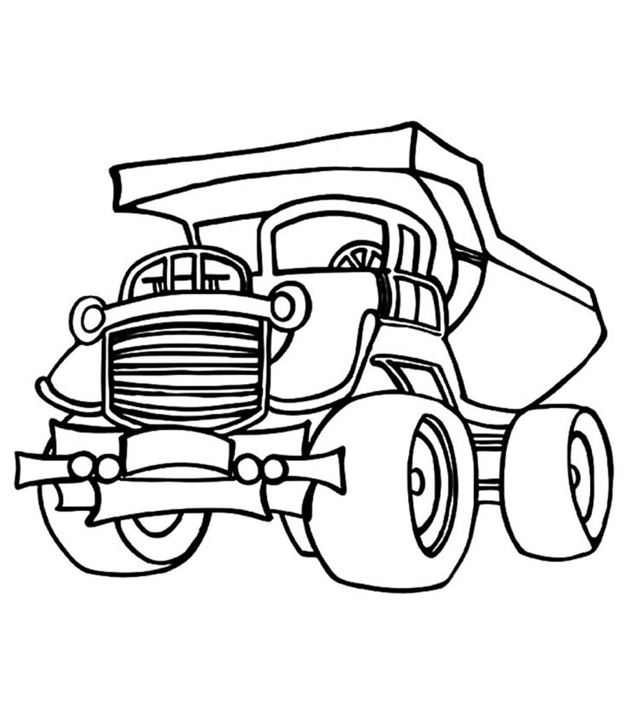 truck colouring in gmc truck coloring pages at getcoloringscom free truck colouring in