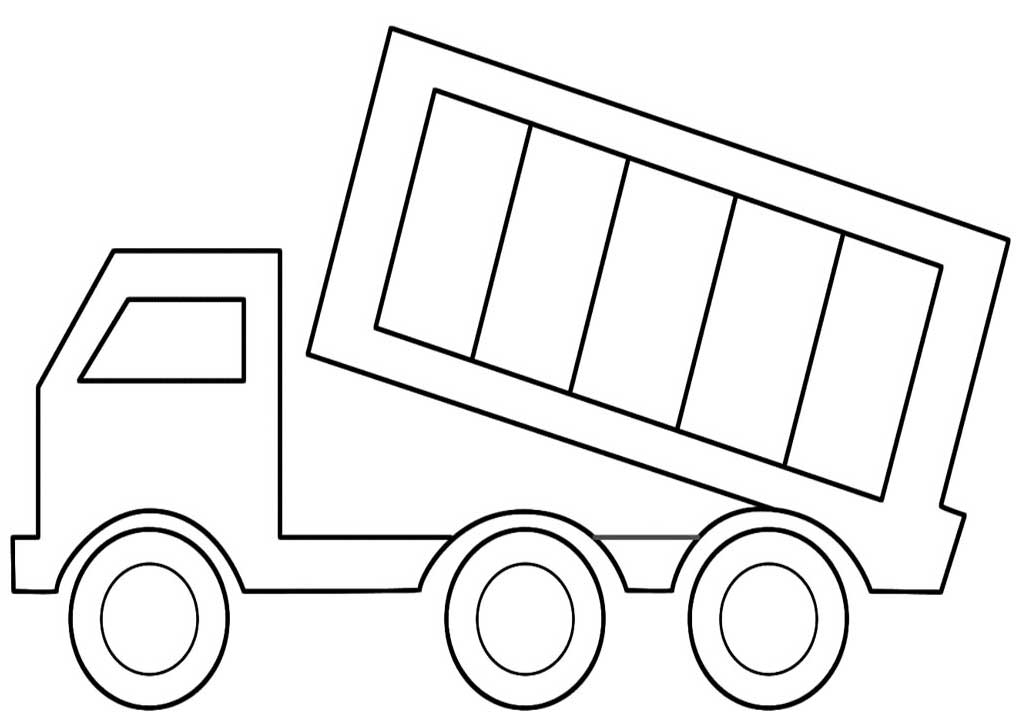 truck colouring in peterbilt coloring pages coloring home in colouring truck