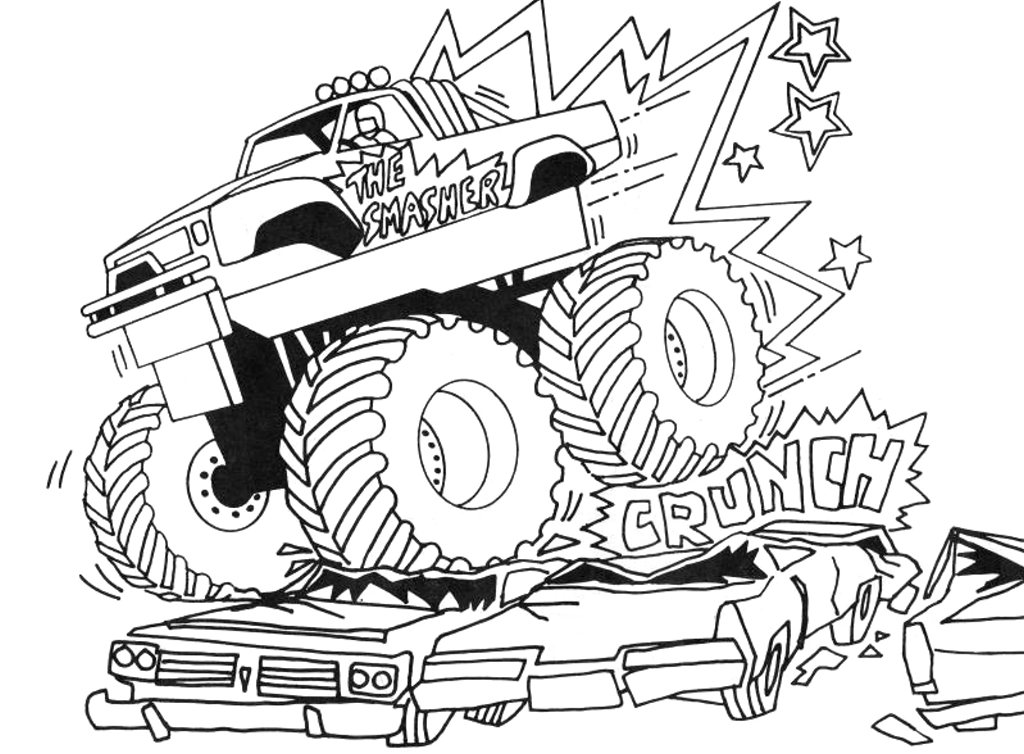 truck colouring in truck coloring pages coloringpages1001com in colouring truck