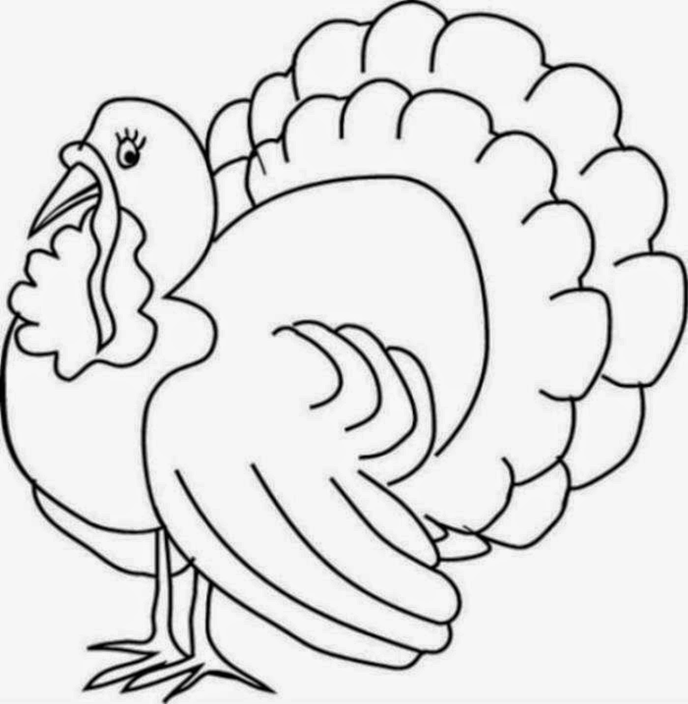 turkey color page coloring pages turkey coloring pages free and printable color page turkey