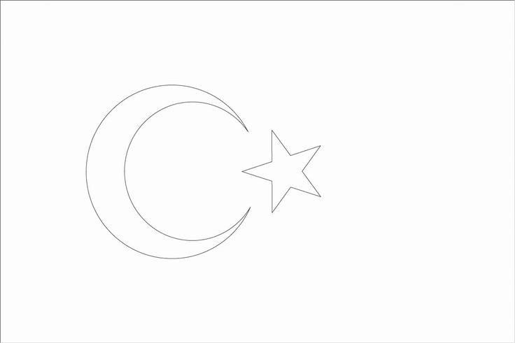 turkey flag coloring page country flags coloring pages coloring home coloring flag page turkey