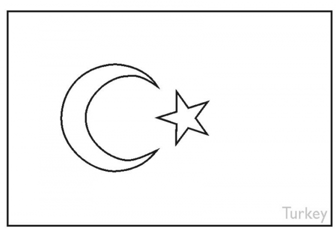 turkey flag coloring page splendid coloring flag of taiwan zimbabwe flags turkey flag page coloring