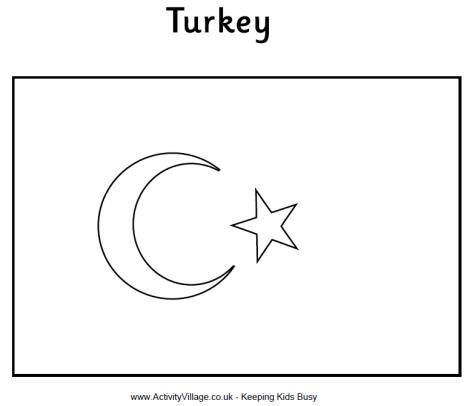 turkey flag coloring page turkey flag coloring page flag coloring pages coloring page flag turkey coloring