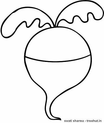 turnip outline quotrice in bowl icon outline illustration of rice in bowl turnip outline