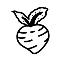 turnip outline turnip vector images over 1900 outline turnip