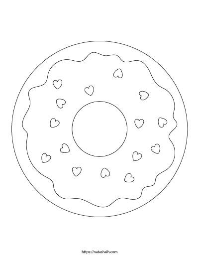 unicorn donut coloring page 9 free printable donut coloring pages the artisan life donut unicorn page coloring