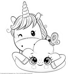 unicorn donut coloring page cute unicorn eating donuts coloring pages free instant unicorn donut page coloring
