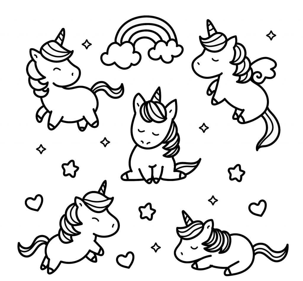 unicorn donut coloring page the cutest free unicorn coloring pages online unicorn coloring page donut