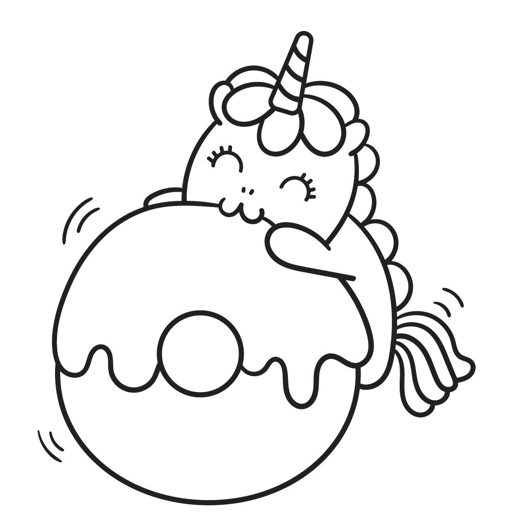 unicorn donut coloring page the cutest free unicorn coloring pages online unicorn page coloring donut
