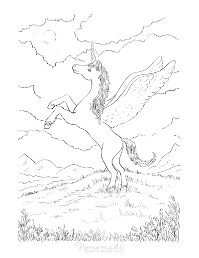 unicorn food coloring pages 75 magical unicorn coloring pages for kids adults free food coloring unicorn pages