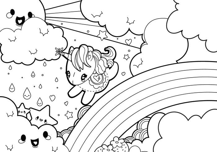 unicorn food coloring pages coloring pages cute food fresh kawaii mr dong 7619d8a2e3 unicorn pages coloring food
