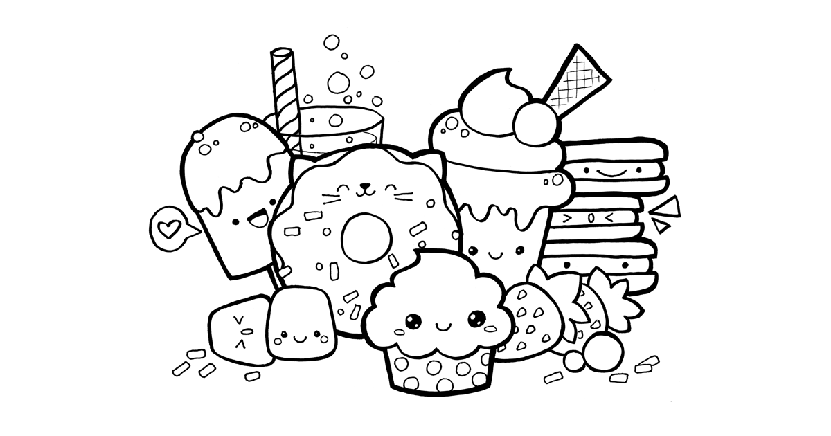 unicorn food coloring pages food and drink colouring pages pages food unicorn coloring