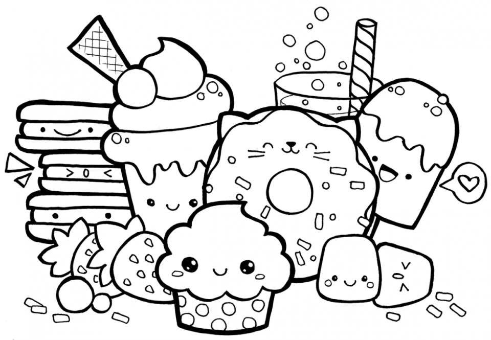 unicorn food coloring pages get well unicorn coloring page free printable download coloring pages food unicorn