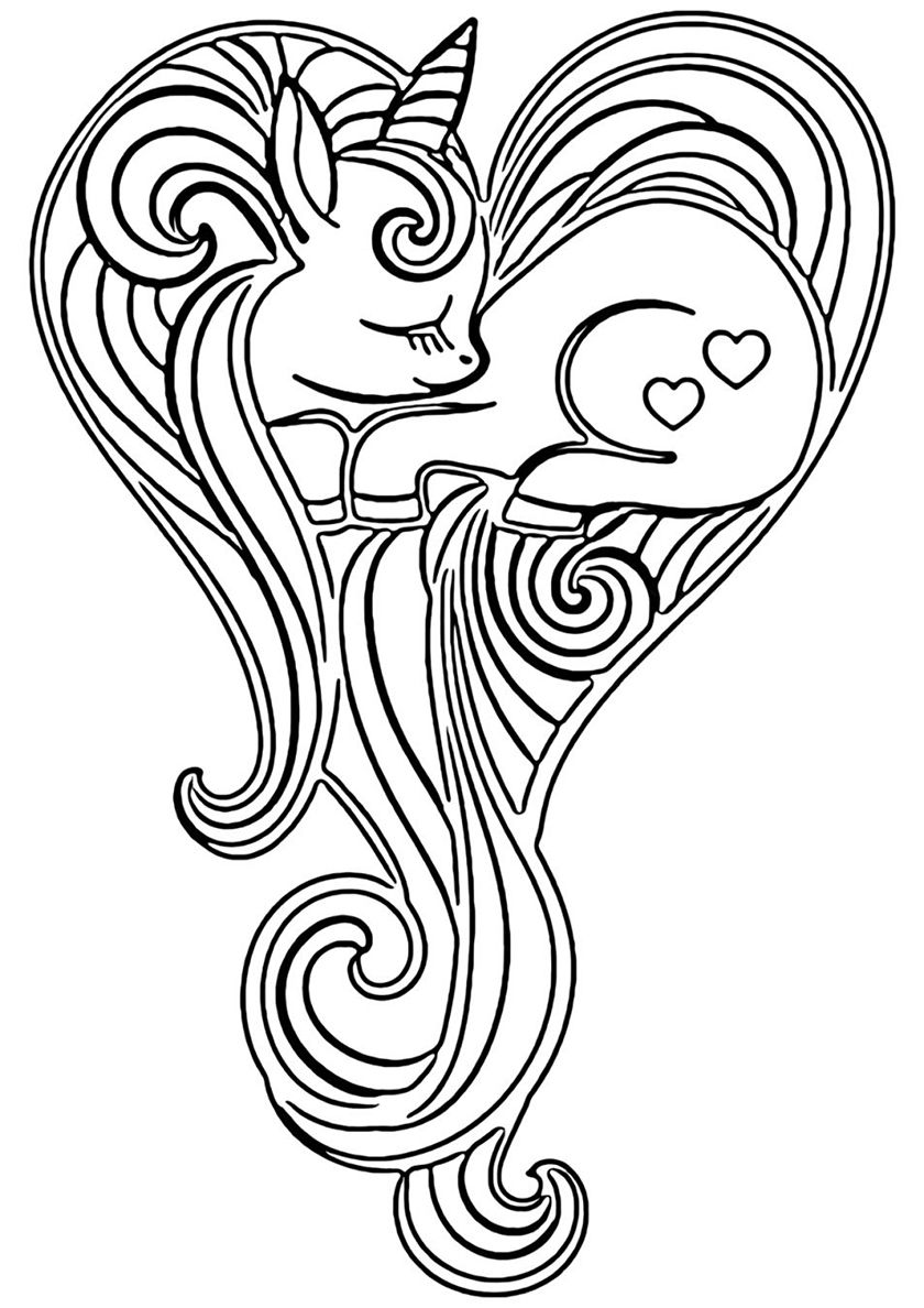 unicorn heart coloring pages 100 magical unicorn coloring pages the ultimate free coloring pages unicorn heart