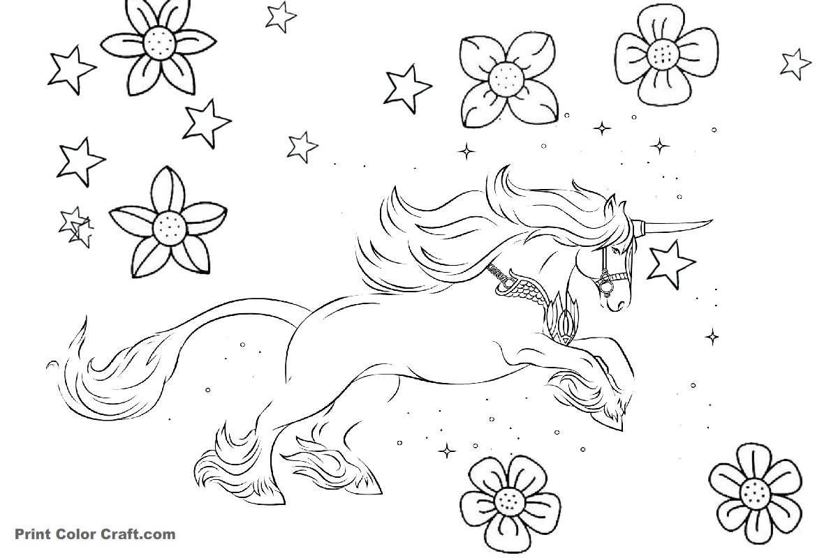 unicorn pictures coloring sheet free printable winter unicorn pdf coloring page sheet unicorn coloring pictures