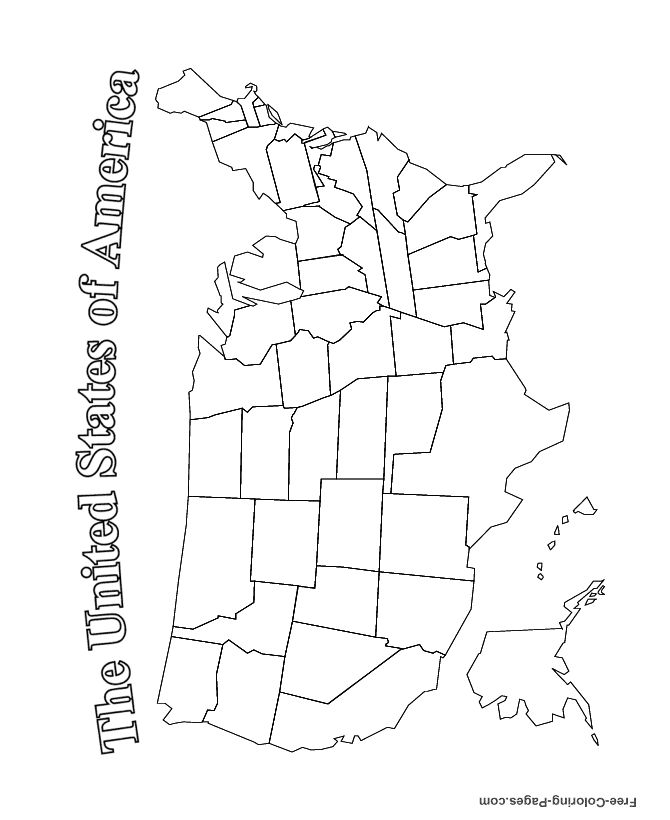 us map coloring page 30 elegant us map coloring page in 2020 with images coloring map us page
