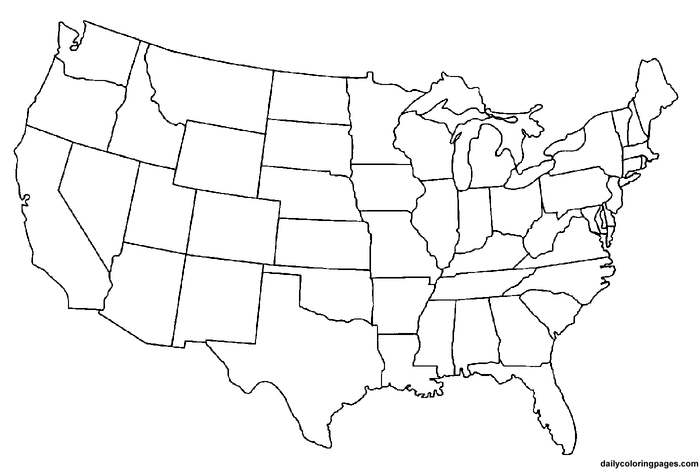 us map coloring page 50 states coloring pages at getcoloringscom free coloring us page map