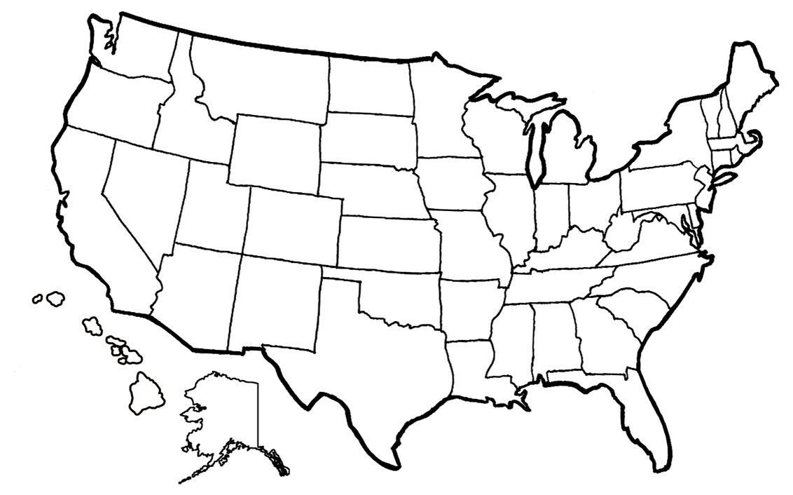 us map coloring page united states map drawing at getdrawings free download map page coloring us