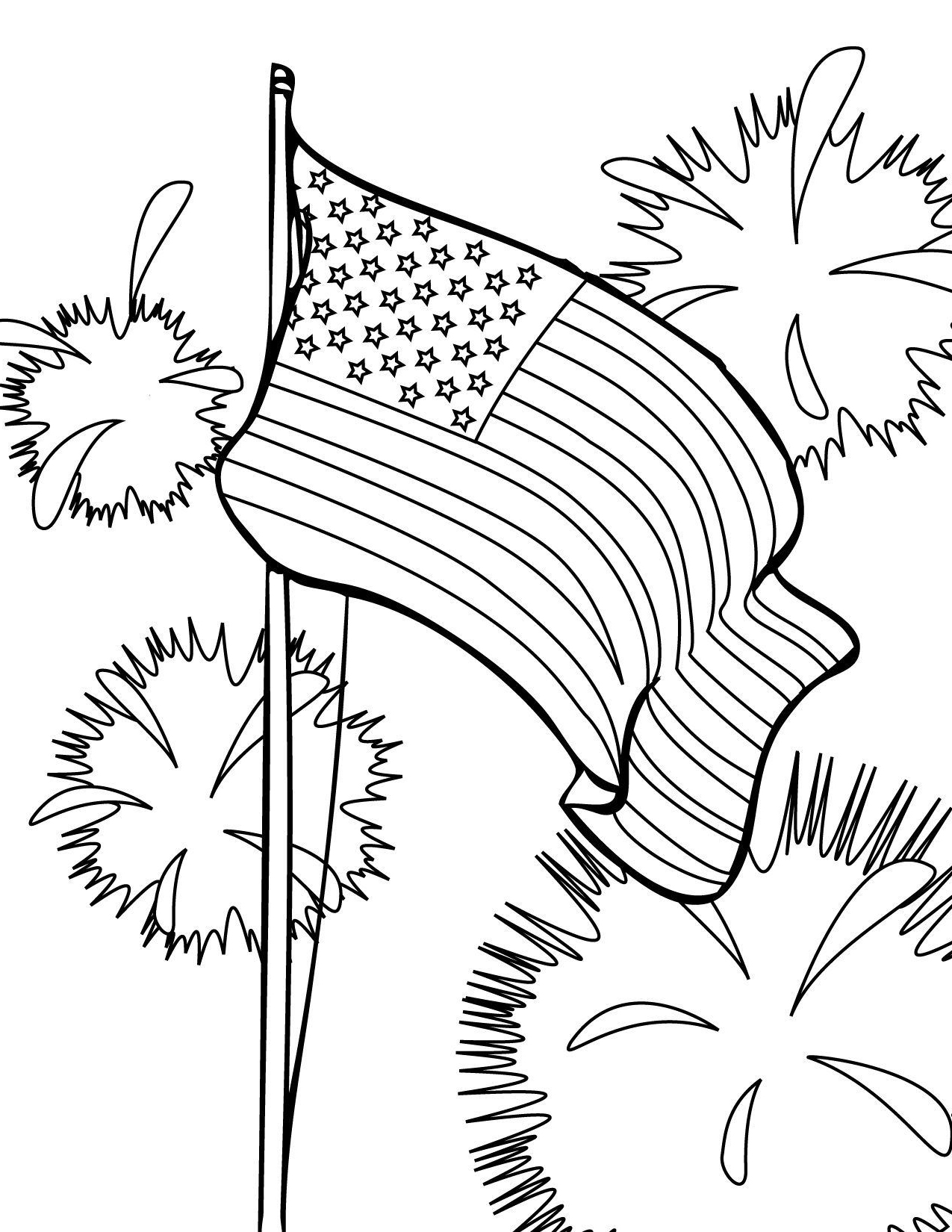 usa flag to colour american flag coloring page memorial day american to colour usa flag