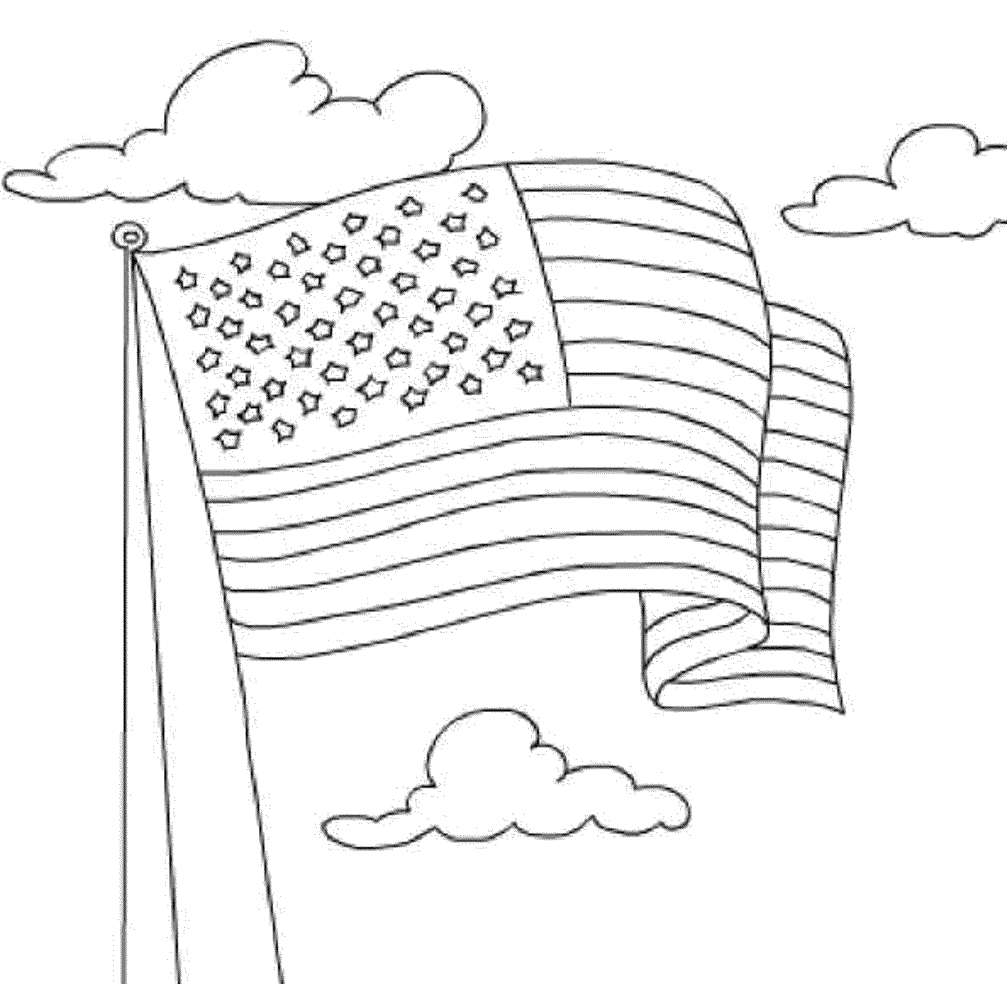 usa flag to colour coloring pages of military flags in 2020 american flag flag usa to colour