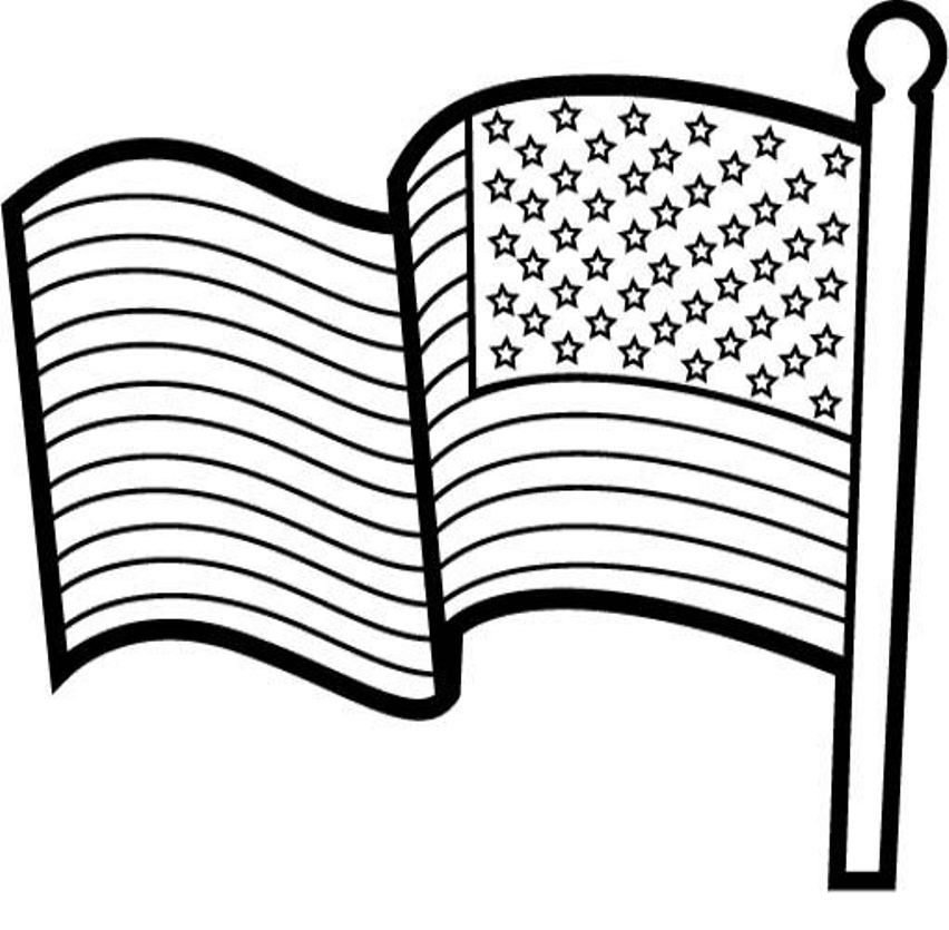 usa flag to colour united states flag drawing at getdrawings free download usa colour to flag