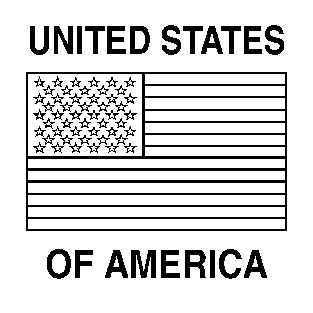 usa flag to colour waving american flag drawing at getdrawings free download colour to usa flag